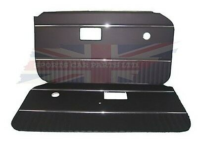 New Pair of Door Panels for MGB 1970-76 Made in UK Dark Navy Blue