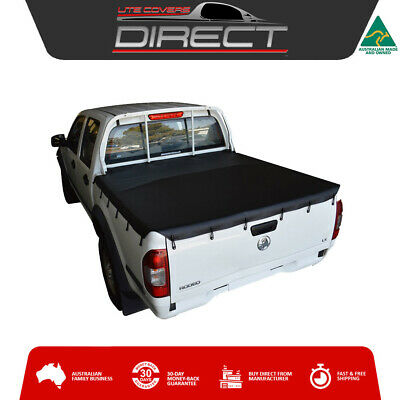 Suits Holden Rodeo & Colorado Dual Cab Ute (2003 to Jun2012) Tonneau Cover Tarp