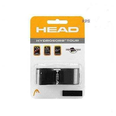 NEW Head Hydrosorb Tour Black Replacement Grip for Tennis Racquet Racket