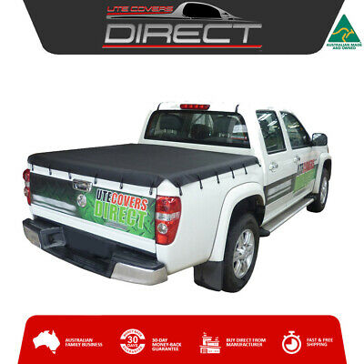 Holden Rodeo & Colorado Dual Cab (2003 to May 2012) Ute Soft Tonneau Cover Tarp