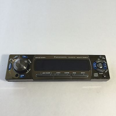 Panasonic CQ-C5310U CD Player/MP3 In Dash Receiver FACEPLATE ONLY!!!