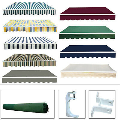 Garden Patio Awning Canopy Sun Shade Shelter Replacement Fabric Greenbay New