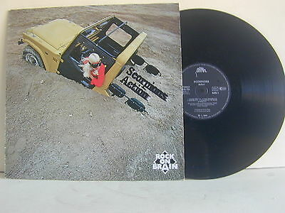 Lp-Scorpion Action-Rock On Brain-Mint-Reissue