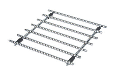 Swift Square Chrome Trivet Pan Pot Stand Worktop Protector 25cm x 25cm Cook