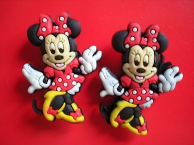 Clog Shoe Charm Button Plug For Accessories Minnie Mouse For Bands
