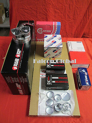 Mercruiser Marine Chevy 7.4/454 GEN V Engine Kit Pistons+Ring w/rectangle intake