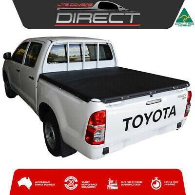 Toyota Hilux (April 2005-August 2015) J-Deck Dual Cab Ute Stretch Tonneau Cover