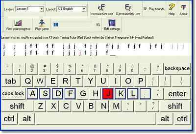 Typing Learn How To Type Fast , touch typing Program touch typing