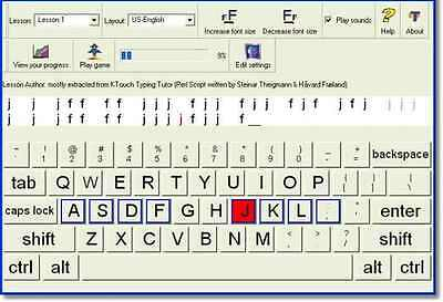Typing Learn How To Type Fast , touchtyping Program touch typing