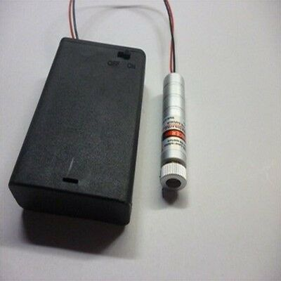 High-Power 250mW Focusable Laser Module With Battery Case