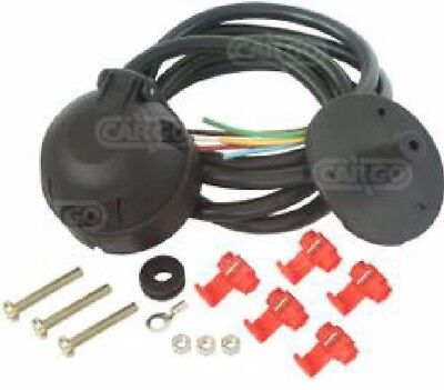12N  7 Pin Trailer Socket Pre-Wired Cable Kit 7 Core Cable Towing Tow Bar 180144