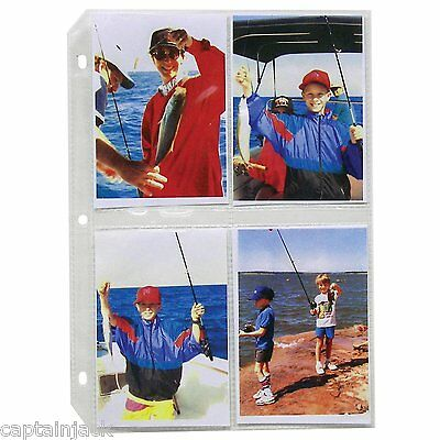 10 Pack C-Line 3.5 x 5 PHOTO STORAGE Clear Pages 35mm Ring Binder (52584)