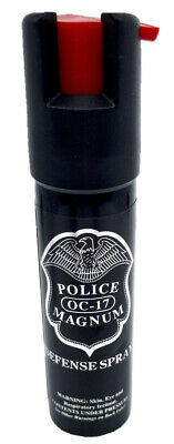 Police Magnum pepper spray 3/4oz Unit Safety Lock Defense Security Protection