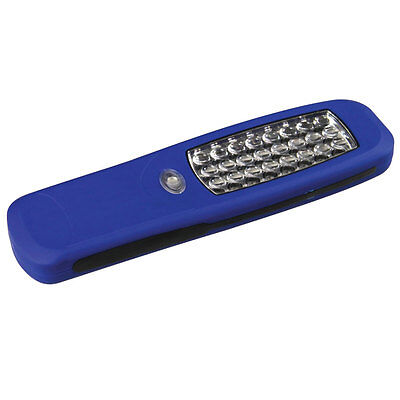 24 LED SUPER BRIGHT HANGING INSPECTION LIGHT MAGNETIC WORKLIGHT CAMPING TORCH