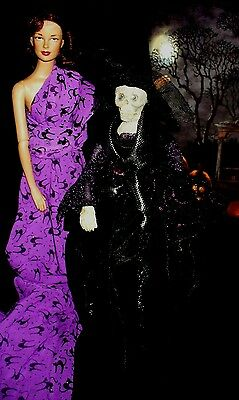 Gothic Halloween Skeleton Witch 4 Your 16 Inch Fashion Dolls