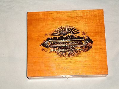 Sancho Panza Dulcinea Wooden Cigar Box