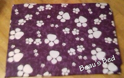 Personalised Cat or Dog Bed Large or Small Sizes Pet Mattress - Washable