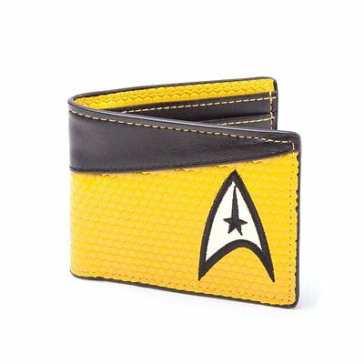 *NEW* Star Trek Command Yellow Bifold Wallet