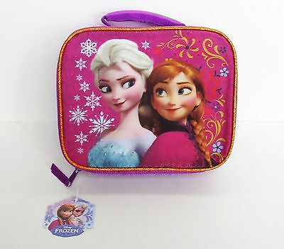 Disney - Frozen - Elsa & Anna Girls Youth Lunch Box/Bag 12758