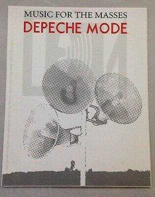 "Depeche Mode-Music For The Masses Sticker Brand New 4""x5"""