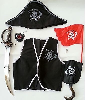 Pirate Toy Dress Up Play Set Kids Costume Party