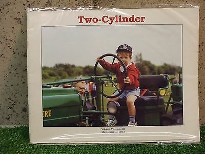 John Deere Two Cylinder Magazine.....May/June 1993