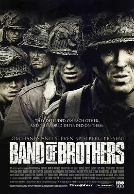 Band of Brothers (2001) 27 x 40 Movie Poster Eion Bailey, Jamie Bamber, Style F
