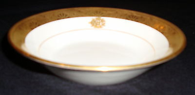 "MINTON England FOR TIFFANY & CO. Art Deco GOLD ENCRUSTED  5-1/4"" Bowl"