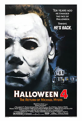 Horror: Michael Myers in * Halloween 4: The Return of Michael Myers* Poster