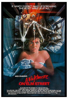 Horror: A Nightmare on Elm Street Movie Poster 1984