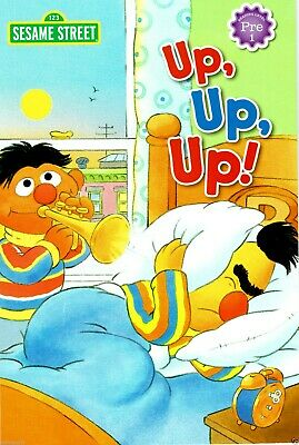 Elmo & Friends UP, UP, UP! Sesame Street Preschool Reading Level Book Ages 4-6