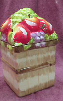 ALCO APPLE COOKIE/CANDY JAR