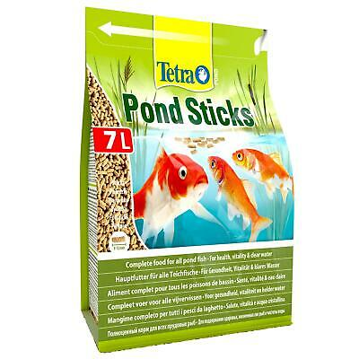780g 7 litre TETRA POND STICKS FLOATING KOI FISH FOOD DAILY DIET BAG