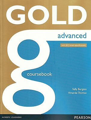 Pearson GOLD ADVANCED CAE COURSEBOOK with 2015 Exam Specifications @NEW