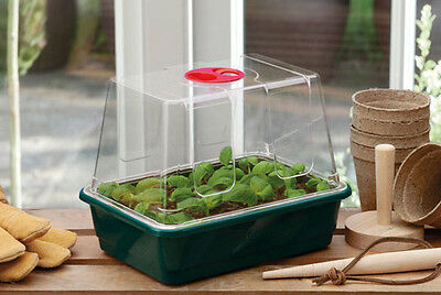 Quality Garland Mini High-Dome Seed Propagator + Clear Vented Lid
