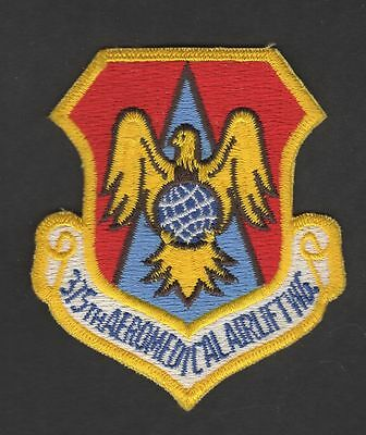USAF 375th AEROMEDICAL AIRLIFT WING Patch Scott AFB Ill