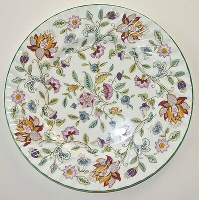 "Hadden Hall by Minton China Chintz Floral  ""TEA"" Plate"