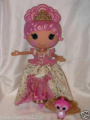 Lalaloopsy Goldie Luxe Limited holiday collector edition pet peacock
