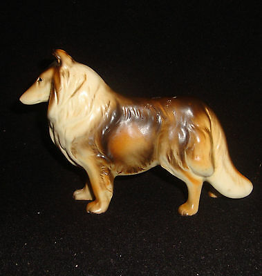 Vintage Japan Made Standing Collie Dog Pocelain Figurine from a large collection