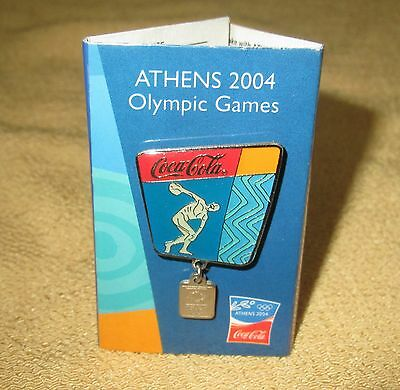 COCA COLA *ATHNES 2004 Olympic Games Pins /AGUNES