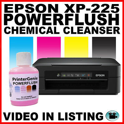 Printhead Cleaning Kit for Epson XP-225 -  Nozzle Cleanser, Printer Unblocker