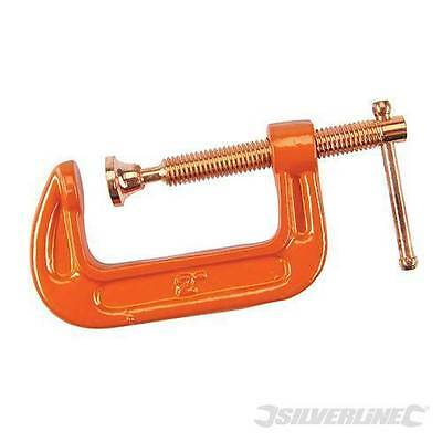 Silverline Heavy Duty G-Clamp Choice of 7:  50, 75, 100, 150m, 200, 250 or 300mm