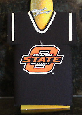 Oklahoma State Koozie Jersey NCAA Licensed Football Beer Cooler Cowboys 5c6a07999
