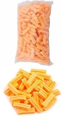 Mini Musk Sticks Orange 500g Candy Buffet Lollies Sweets Party Wedding Birthday