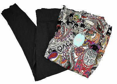 Peter Alexander Womens Maternity Paisley Shirt PJ Set- BNWT- Choose Size