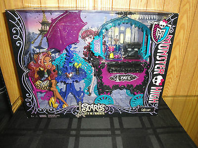 Monster High Scaris City of Frights Cafe Cart Playset HARD TO FIND! NRFB