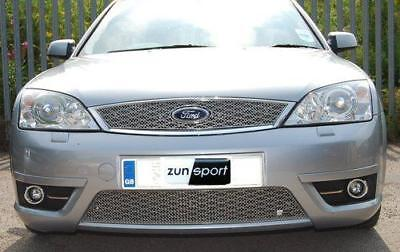 Zunsport Mondeo Mk3 St Stainless Front Grille Set