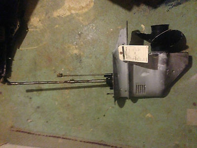 "Evinrude Johnson OMC Lower Unit 35 HP Outboard Motor Engine 20"" Gearcase Leg"