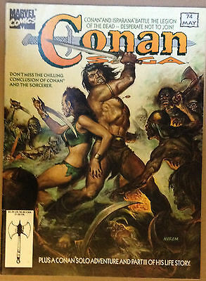 Conan Saga #74 VF 1st Print Free UK P&P Marvel Comics Magazine