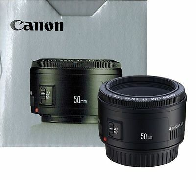 NEW Canon EF 50mm f/1.8 II Lens For all Canon DSLR Cameras
